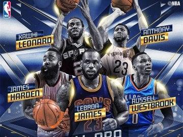 El Quinteto Ideal de la NBA de la temporada 2016/2017