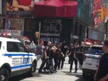 Detenido tras el atropello en Times Square