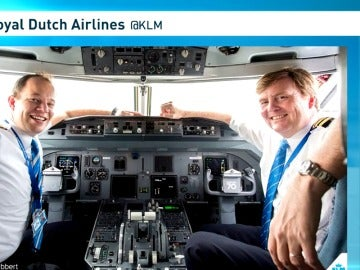 Guillermo de Holanda confiesa que le gusta pilotar aviones comerciales