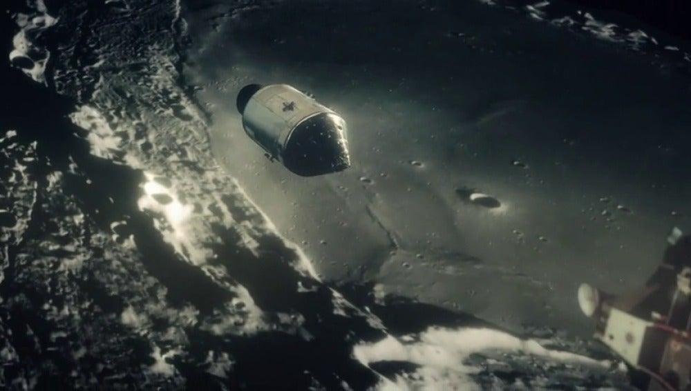 Frame 49.427251 de: La NASA reconstruye el primer viaje a la Luna con imágenes nunca vistas