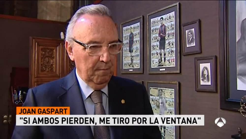 Joan Gaspart, expresidente del FC Barcelona