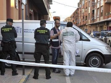 Operativo policial en Caudete