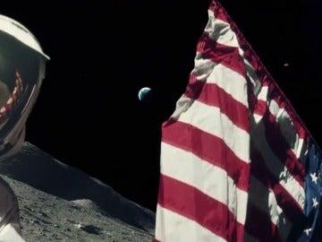 Frame 29.686504 de: La NASA reconstruye el primer viaje a la Luna con imágenes nunca vistas