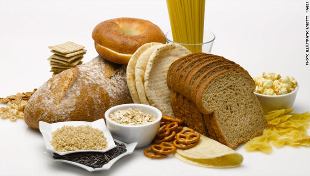 Alimentos sin gluten