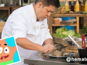 """""""Víctor, el experto 'desplumador' de Top Chef"""", por @hematocritico"""