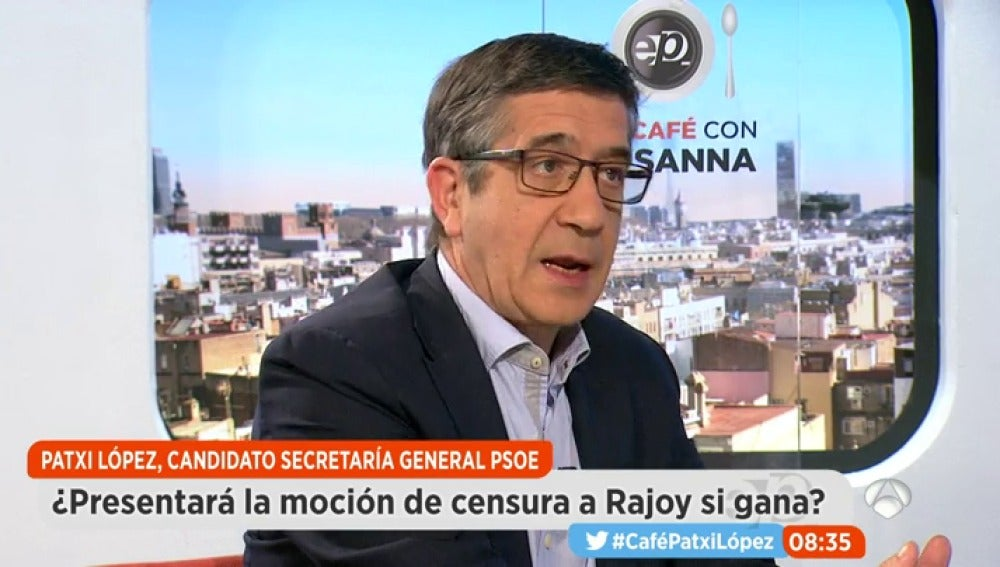 Patxi López en Espejo Público