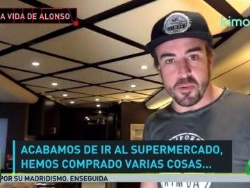 Frame 24.366163 de: Fernando Alonso nos desvela su 'casa' en Indianápolis