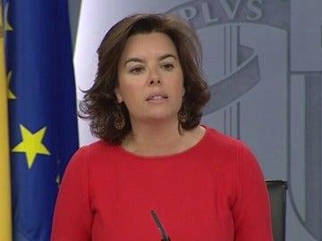 Frame 14.69865 de: El gobierno le dice a Puigdemont que lleve su propuesta de referéndum a las Cortes
