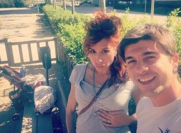 Jordi Coll y Marta Tomasa esperan su segundo bebé