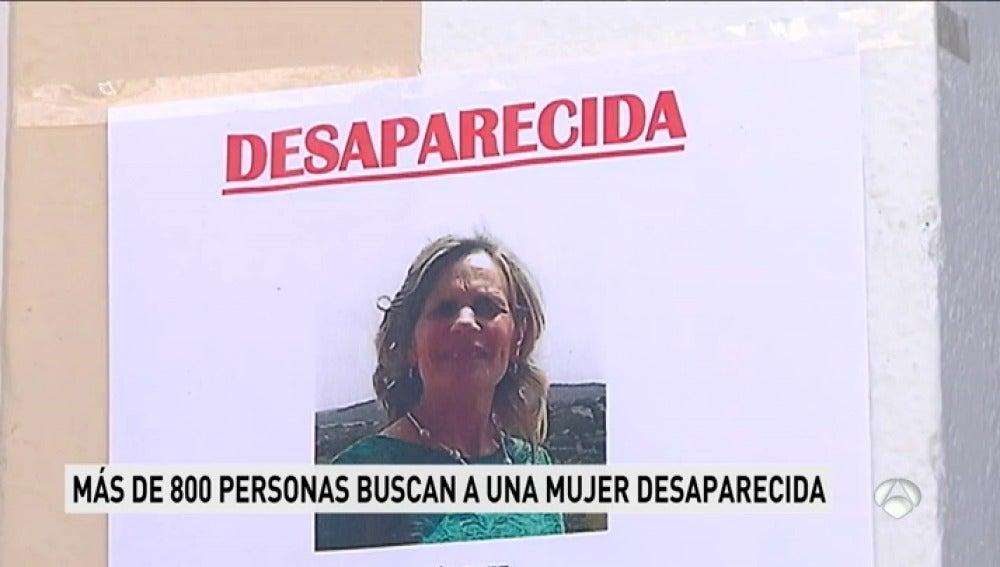 Cartel de desaparecida de Francisca Cadenas