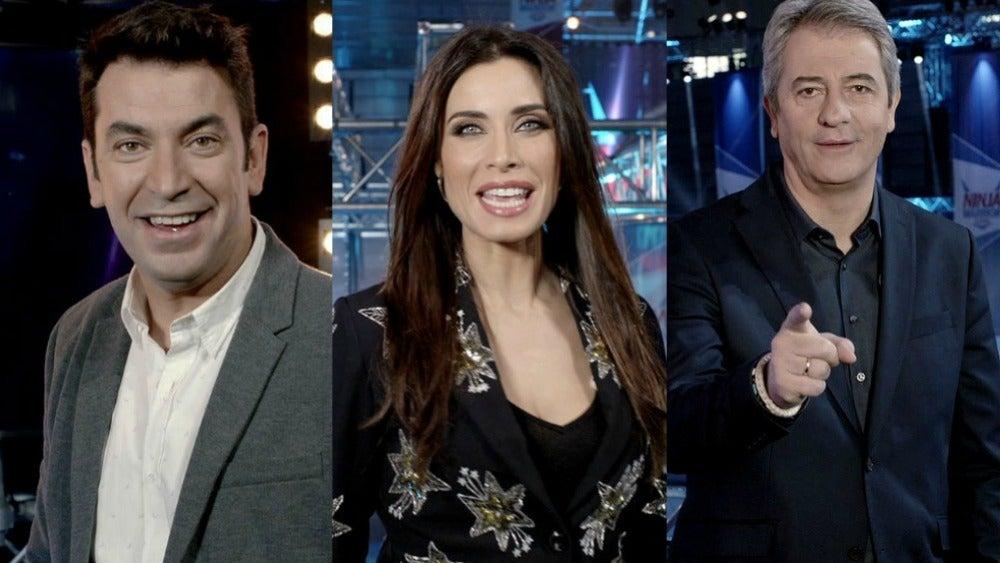Arturo Valls, Pilar Rubio y Manolo Lama presentan 'Ninja Warrior'