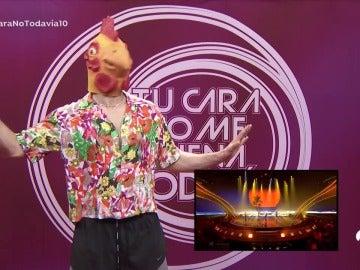 Frame 35.339745 de: El gallo de Manel Navarro se cuela en 'Tu cara no me suena todavía'
