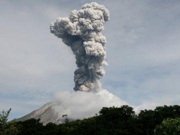 Imagen de archivo de un volcán