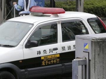 Imagen de un coche de la policía japonesa