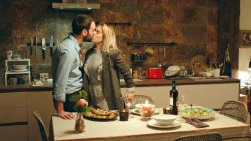 La cena romántica de Carmen que Iñaki estropea