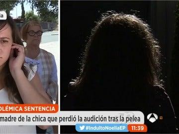 """Frame 238.716989 de: La madre de una joven que quedó sorda tras recibir una paliza: """"Mi hija ha perdido muchos años de felicidad"""""""