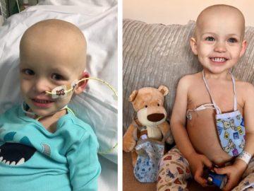 Dawson, el niño enfermo de cáncer