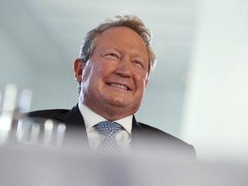 El maganate australiano Andrew 'Twiggy' Forrest