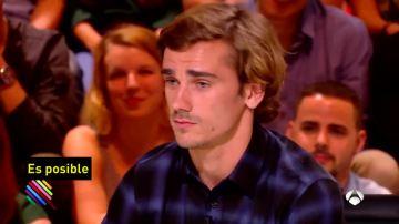 Griezmann, en una entrevista en una televisión francesa