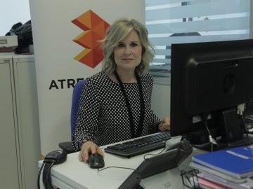 María Rey durante el encuentro digital