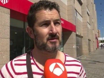 Aficionado del Atlético de Madrid