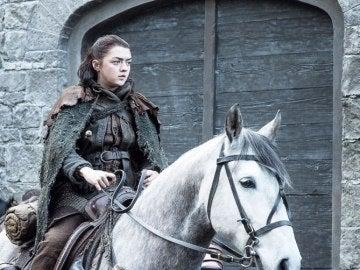 Arya Stark en la séptima temporada de 'Juego de Tronos'