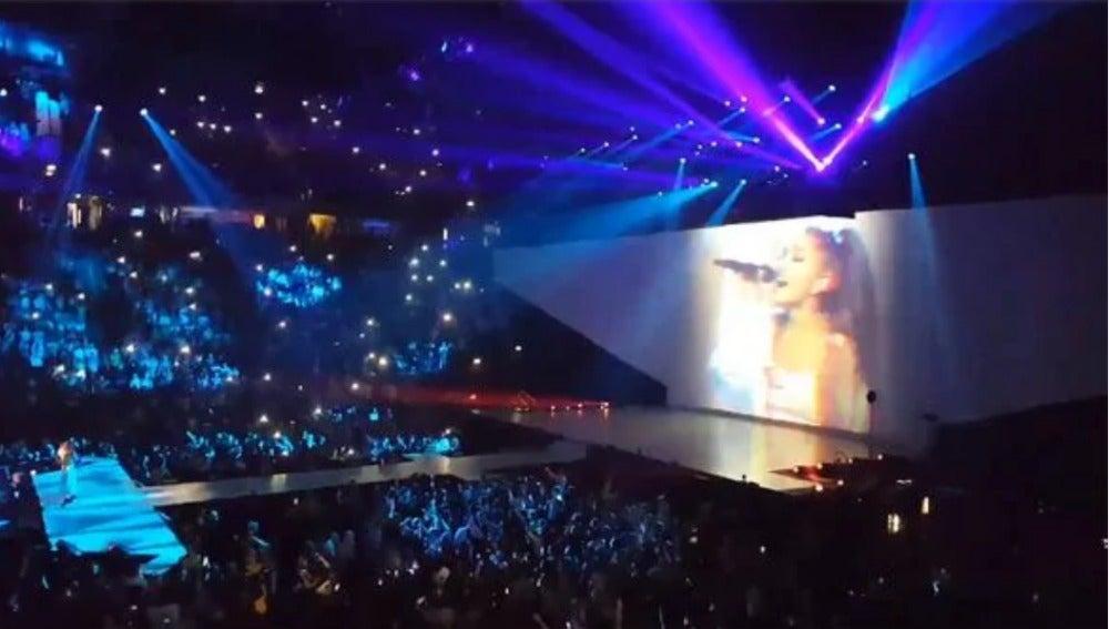 Concierto de Ariana Grande en Manchester