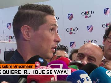 Fernando Torres manda un recado a Griezmann