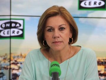 María Dolores de Cospedal en Más de uno