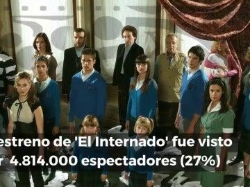 Frame 6.675503 de: Diez curiosidades de 'El Internado' en el décimo aniversario de su estreno en Antena 3