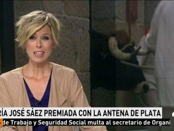Frame 24.605853 de: María José Sáez, premio Antena de Plata 2017