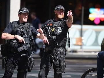 Agentes de policía de Mánchester
