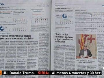 Frame 9.829 de: El 61% de los catalanes desaprueba la ley de ruptura, según un sondeo
