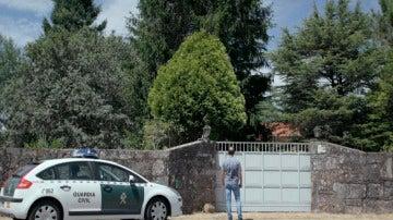 El registro en el chalé familiar de Montouto que supuso el inicio de las sospechsa hacia Rosario Porto