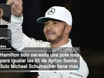 Lewis Hamilton, a la caza de Ayrton Senna