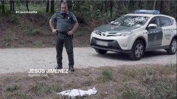 La llamada al 061 del hombre que encontró el cuerpo de Asunta en la pista forestal de Teo