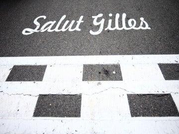 'Salut Gilles', la línea de salida del GP de Canadá