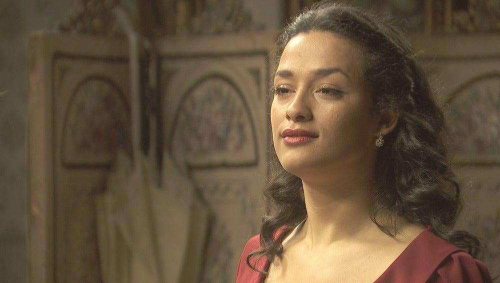 Lucía se marcha de Puente Viejo tras destrozar su amistad con Camila