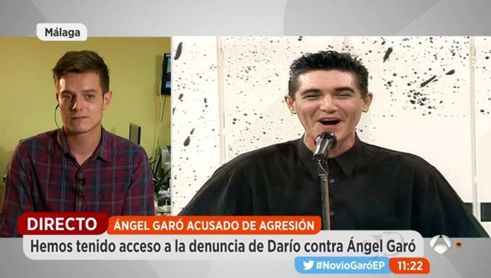 """Frame 159.390608 de: Darío, la expareja de Ángel Garó: """"No lo he denunciado porque le quiero"""""""