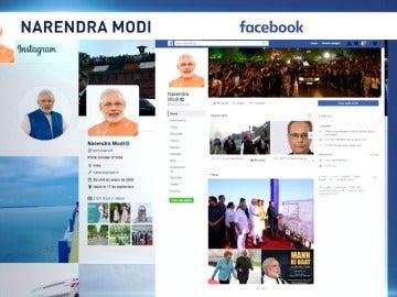 Frame 12.911881 de: El primer ministro de la India, Narendra Modi, llega a España