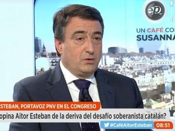 """Frame 806.194541 de: Esteban, tras el acuerdo sobre los Presupuestos: """"No es cierto que haya una mayoría estable en el Parlamento"""""""