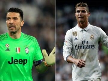 Buffon vs Cristiano, en la final de la Champions