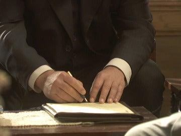 Mauricio rompe el corazón de Fe y firma los papeles del matrimonio