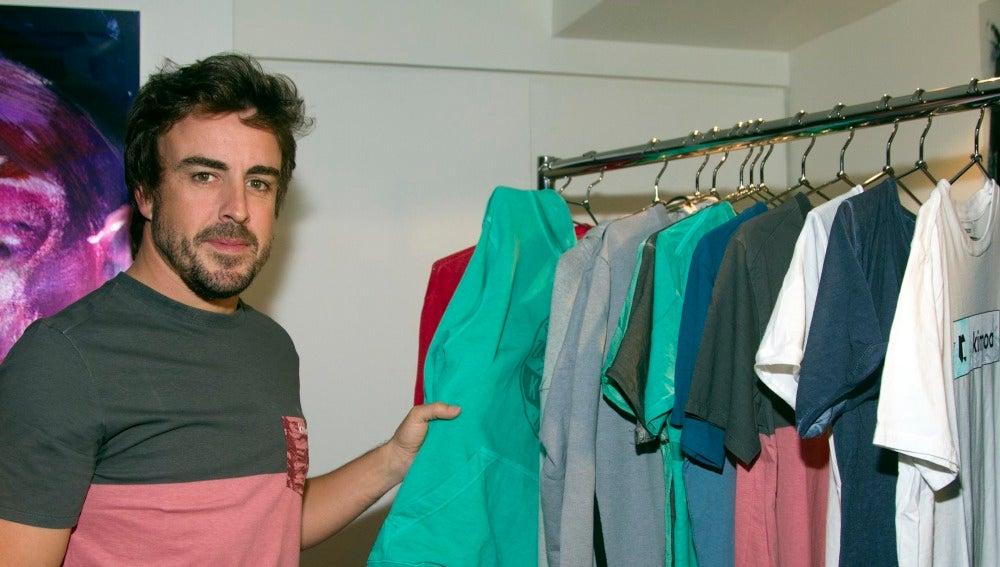 Fernando Alonso, en un evento en Nueva York