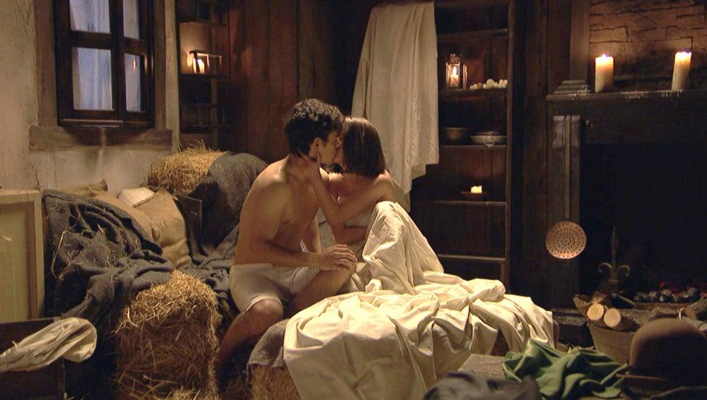 El encuentro amoroso más pasional entre Matías y Beatriz