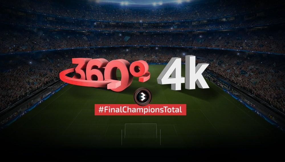 La final, en 4K y 360º