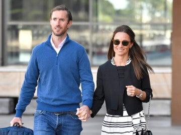 Pippa Middleton y su mardio James Matthews de luna de miel