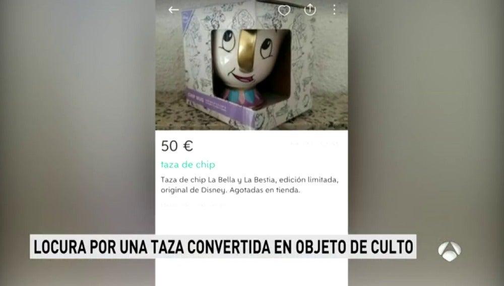 Frame 19.534428 de: La taza de 'La Bella y la Bestia' causa furor y se convierte en un jugoso negocio en internet