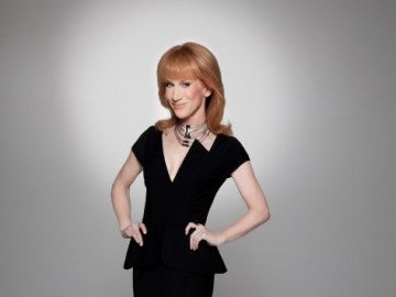 La actriz Kathy Griffin
