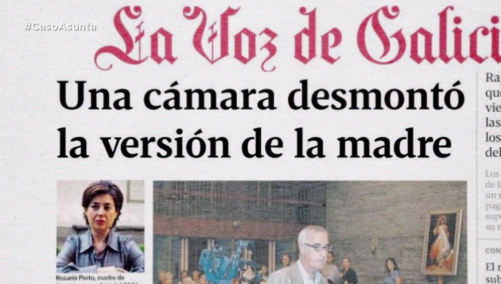 Rosario Porto cambia su declaración después de que la prensa filtre que las cámaras la captaron con Asunta